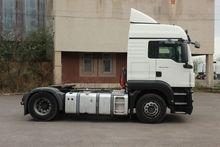 2009 MAN TGS 18.400 tractor uni