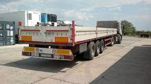 2000 KÖGEL flatbed semi-trailer