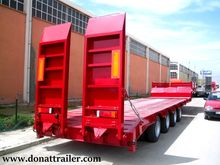 DONAT 4 axle low load semitrail