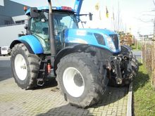 2007 HOLLAND T7040 PC wheel tra