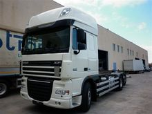 2013 DAF container chassis