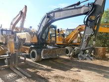 2006 VOLVO 180B, excavator whee