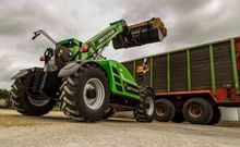 2015 DEUTZ-FAHR 37.7 telescopic