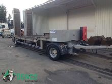 2002 TRAX low loader trailer by