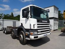 2002 SCANIA P114.340 chassis tr