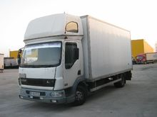 2005 DAF AE45LF BOX closed box