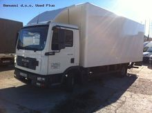2006 MAN 8.180 closed box truck