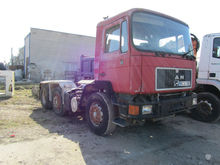 Used MAN chassis tru