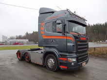 2005 SCANIA R500 4,Twinsteer,TO
