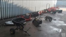2000 HONDA 5518 mini tractor