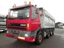 1999 GINAF 4345 dump truck