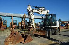2009 JCB JS 145 W wheel excavat