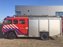1994 MERCEDES-BENZ 1124F fire t