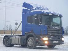 2006 SCANIA P114 tractor unit