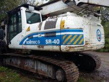 2009 SOILMEC SR 40 drilling rig