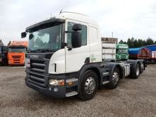 2009 SCANIA R420 6 chassis truc