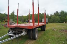2001 BEFA 2001' timber trailer
