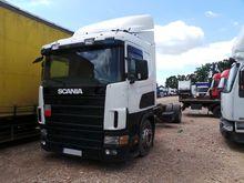 2000 SCANIA 114L tilt truck