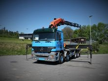 2003 Actros 3240 8x4 flatbed tr