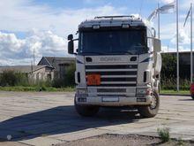 1997 SCANIA R144-460, tanker tr