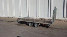 SAÑE MDA 3500 flatbed trailer