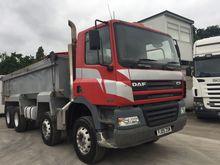 2005 DAF CF85.340 dump truck