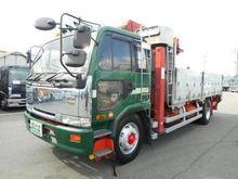 2000 NISSAN Diesel flatbed truc