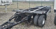 2001 KRONE chassis trailer