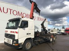 1998 VOLVO FH12 6x4 Hook lift +