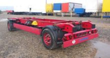 2008 KRONE chassis trailer