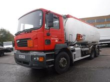 2002 ERF ECS tank truck by auct