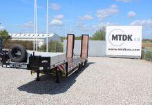 AMT MT330 3-akslet maskintraile