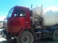 2008 KAMAZ concrete mixer truck