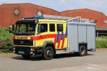 1999 MERCEDES-BENZ 1124F fire t