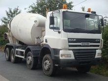Used DAF CF85 concre