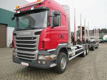 2012 SCANIA R440, timber trucks