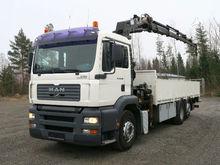 2005 MAN 26.390 TGA, crane truc