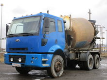 2008 FORD CARGO concrete mixer