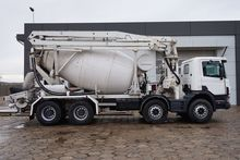 1999 SCANIA P124 concrete pump