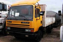 DAF 45.160 flatbed truck for pa