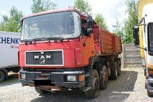 1995 MAN dump truck