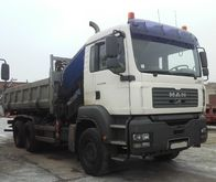 2006 MAN TGA 33.390 6x4 dump tr