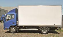 2017 JAC N56 closed box truck