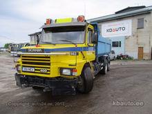 1990 SCANIA T143HL dump truck