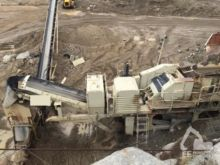 1995 BERGEAUD crushing plant