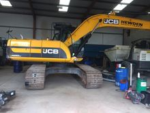 2011 JCB JS 220 LC tracked exca