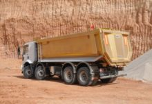 SCRAP DAMPER tipper semi-traile