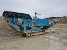 2008 TEREX 400 R crushing plant
