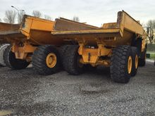 Used VOLVO A35D dump