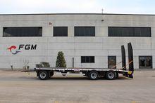 FGM 320 AF low loader trailer